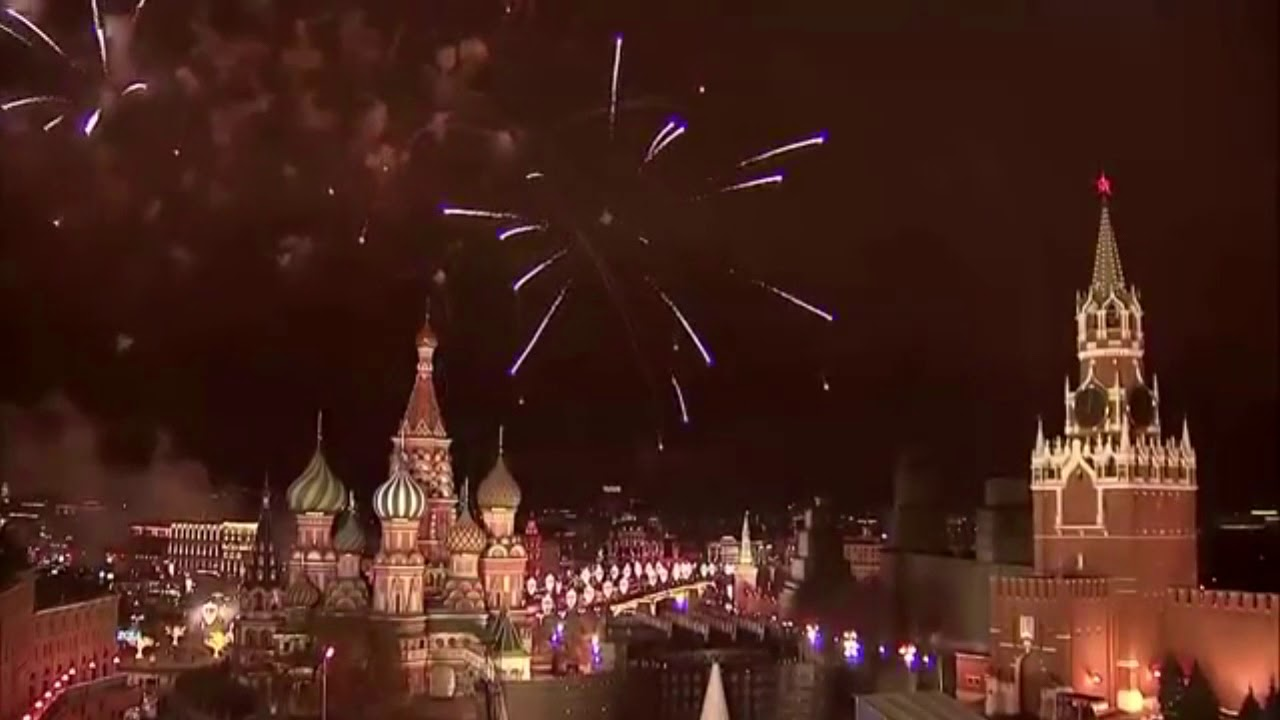New 2018 in Moscow 20