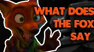 The Fox - Zootopia - What does the Fox Say? (Ylvis)