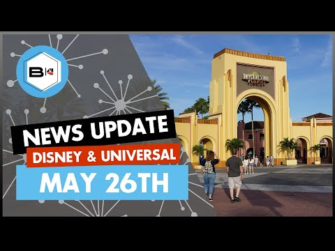 Walt Disney World & Universal Orlando News Update For May 26th, 2020