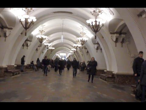 Moscow metro - Arbatskaya station