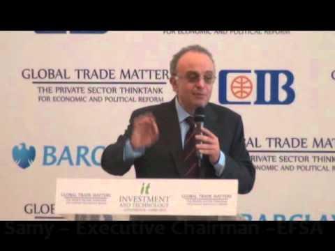 Mr. Sherif Samy – EFSA - Investment & Technology Conference Cairo 2015
