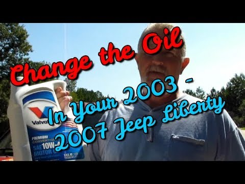 Change Oil Jeep Liberty