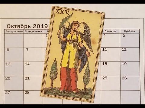 ДЕВА. ОКТЯБРЬ 2019 г. ТАРО РАСКЛАД . ТАРОскоп.