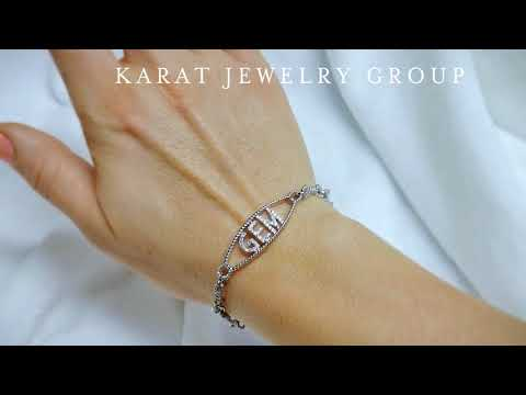 Personalize Name Bracelet at Karat Jewelry Group