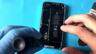 Výměna baterie iPhone 4 za 2 minuty