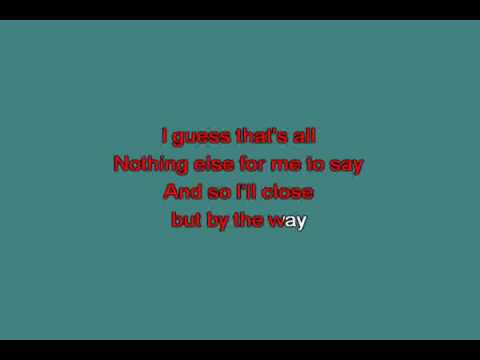 P S I love you   Rudy Vallee 1934 218666 [karaoke]