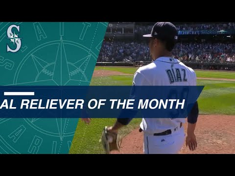 Edwin Diaz named AL Reliever of the Month for July