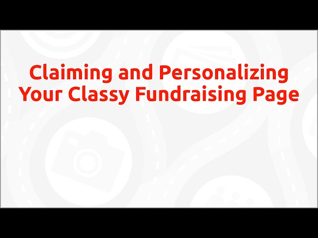 Classy How-To - Claiming and Personalizing