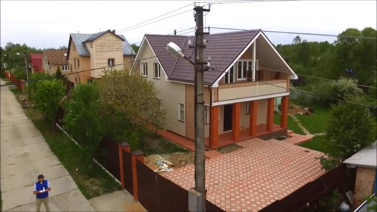 Отмостка дома из тротуарной плитки. Часть 1 подготовка - YouTube