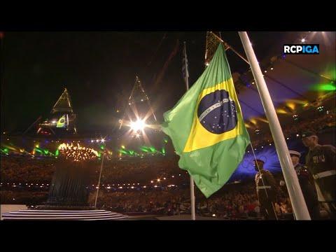 ᴴᴰ Hino Nacional do Brasil  Londres 2012  Brazils National Anthem Lyrics