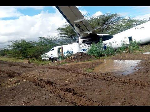 BREAKING NEWS: Plane skids off runway at Wilson Airport