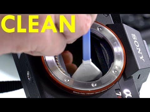 CLEAN YOUR SENSOR