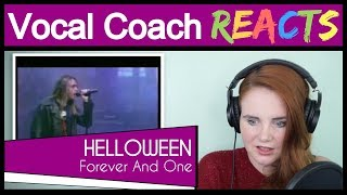 Vocal Coach reacts to Helloween - Forever And One (Neverland Live)