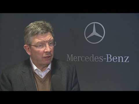 Ross Brawn talks about Schumacher joining Mercedes