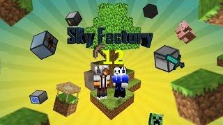 מיינקראפט- Sky Factory- פרק 12: אני יכול לעוף!