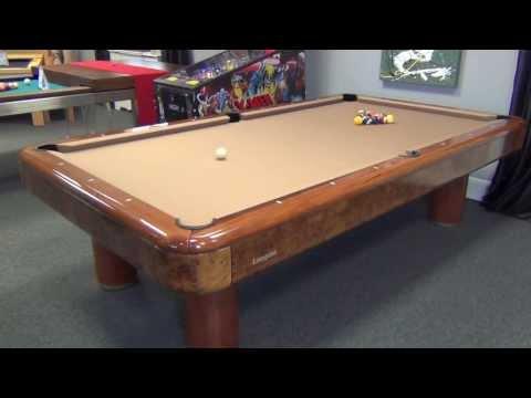 Longoni Elite Pool Table