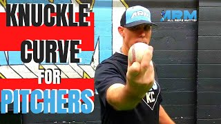 How To Grip Aฑd Throw A Knuckle Curve Ball | Baseball Pitch Grip Development