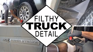 Dirty Truck Detail | Cleaning a Filthy Muddy High-End Truck!
