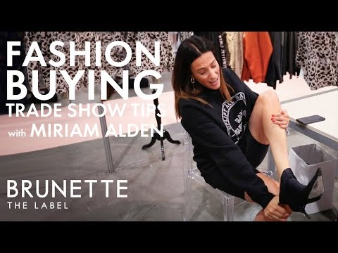 Trade Show Tips For Fashion Buyers at Magic Las Vegas 2019 | Brunette the Label
