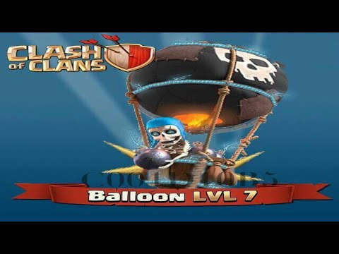 Clash Of Clans - NEW LEVEL 7 Balloons Future Update Idea