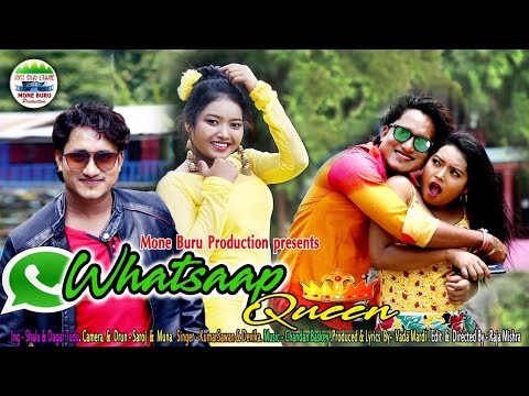 WhatsApp Queen Santali Video 2019 / * Dagar Tudu & Shalu / Lyrics- Vada Marandi