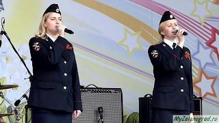 Лейтенант полиции Юлия Леоненкова и старший сержант МЧС Мария Солодчук.