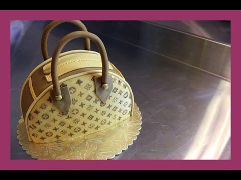 Louis Vuitton Handtaschen Torte  Taschenkuchen Tutorial