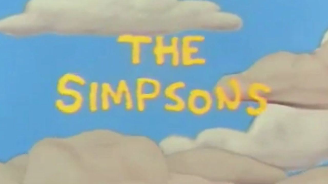 simpsons new intro youtube