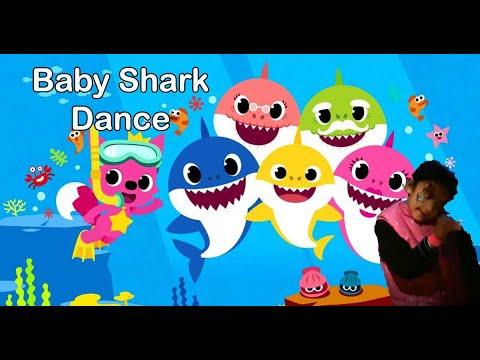 Baby Shark Dance Battle | Baby Shark dance at the Aquarium ...
