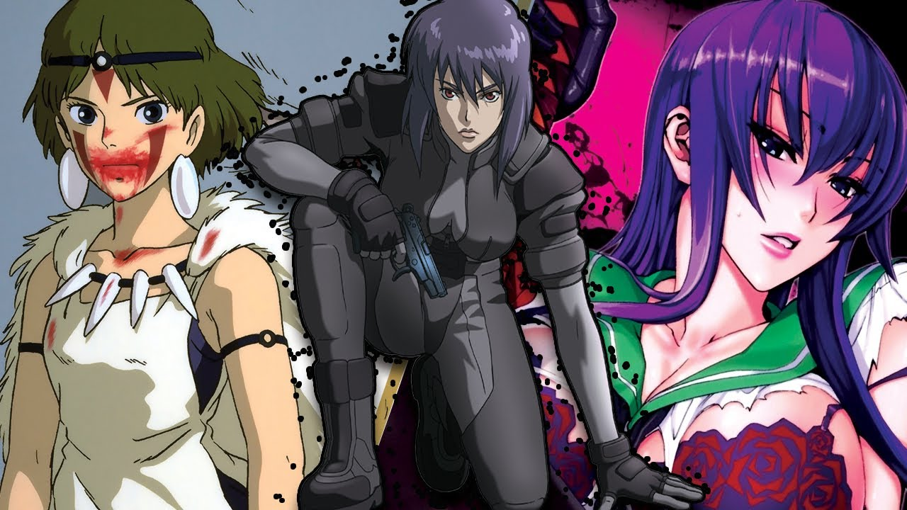 Find anime such as redo of healer, haikyuu, food wars! The Most BADASS Female Anime Characters of All Time - YouTube