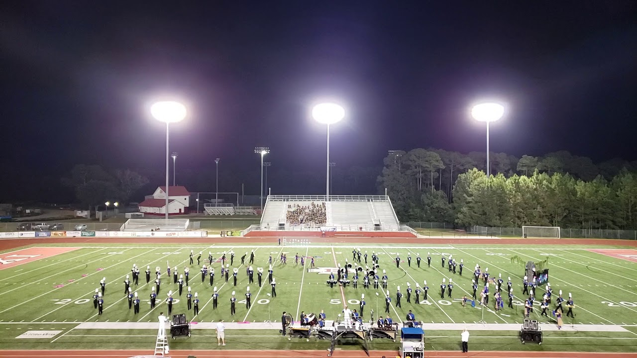 H L Bourgeois High School Marching Band 2019 Gulf Coast