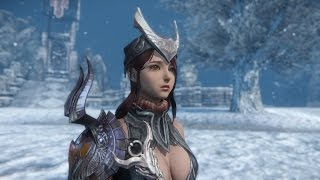 Riders of Icarus Online Combat Gameplay 60FPS Level 30 Assassin Combos