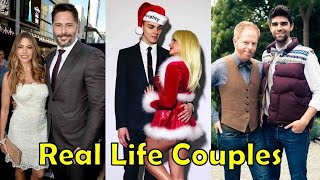 Real Life Couples of Modern Family