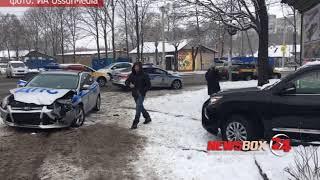 Женщина - пешеход пострадала от столкновения экипажа ДПС с Lexus в Уссурийске