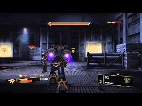Warhammer 40k: Space Marine Chaos Raptor Chainsword 1 |