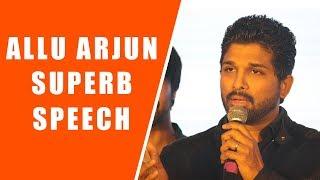 Allu Arjun Extraordinary Speech @ Vijetha Movie Vijayotsavam    Vijetha    Kalyan Dev