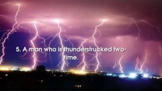TOP 5 STRANGE - 5 cause thunderstruck.