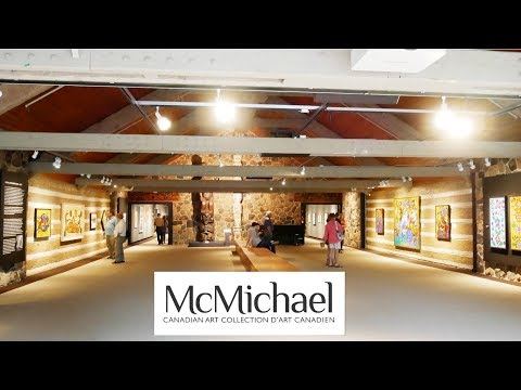 McMichael Canadian Art Collection In Kleinburg Ontario Canada