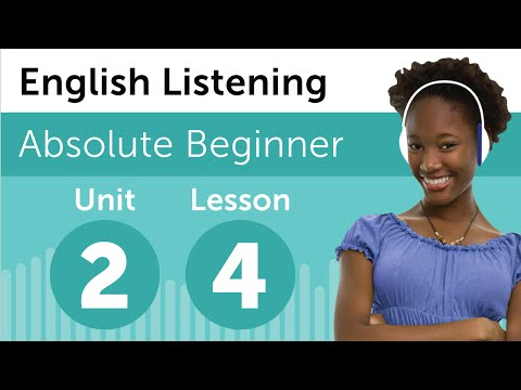 English Listening Comprehension - Baking a Cake in America