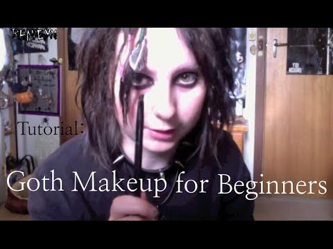 goth eye makeup tutorial for beginners  youtube