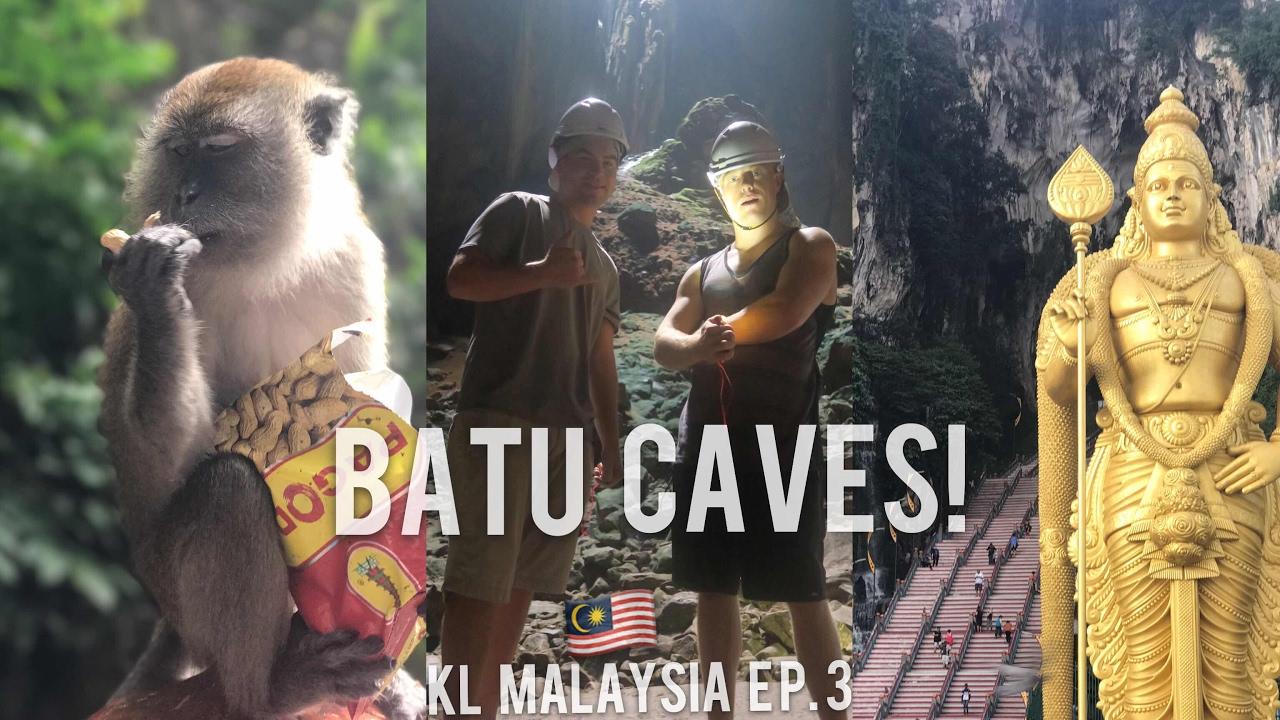 KUALA LUMPUR Ep.3 ?? BATU CAVES! ??*Warning Bats n Bugs* #1 Top Things To Do KL Malaysia Travel