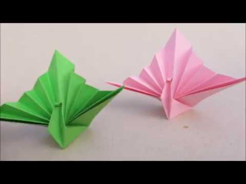 Adorable Peacock Papaer Craft | How to? & Origami | Cindy DIY
