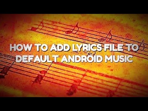 how to add pictures to music files on android