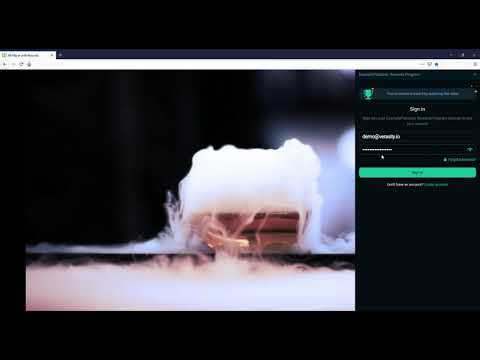 Verasity JW Player Integration Demo
