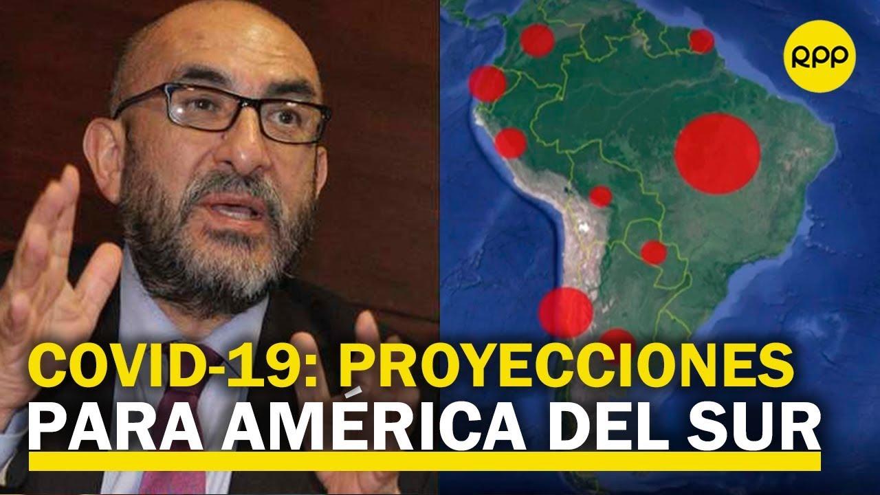 COVID-19: Estudio advierte dramáticas proyecciones para América del Sur