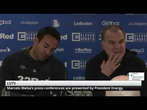 Marcelo Bielsa Post Conference Birmingham