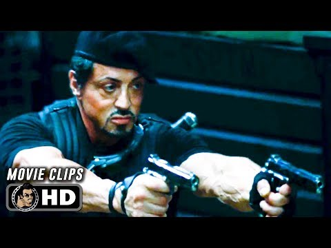 THE EXPENDABLES Clips + Trailer (2010) Sylvester Stallone