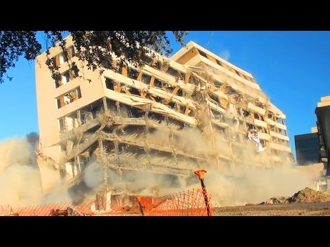 St. Paul University Hospital Buildings E & F - Controlled Demolition, Inc.
