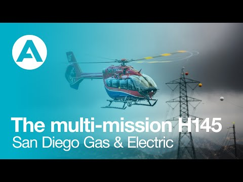 The multi-mission H145 in service for San Diego