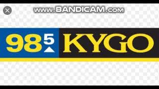 KYGO-FM 98.5 KYGO Station ID 1/12/21